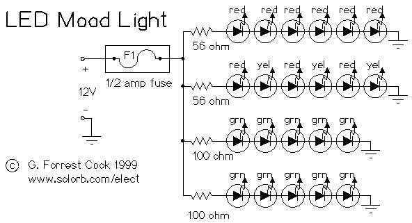 12v LED Light - schematic