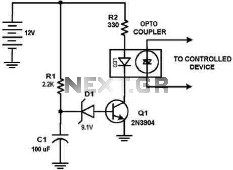 Delay circuit with NE555 timer - img1