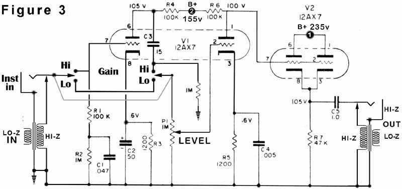vacuum tube preamp   vacuum-tube valves circuits