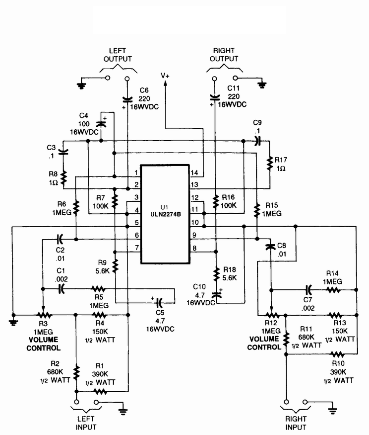Audio Stereo Circuit Page 2 Audio Circuits Next Gr