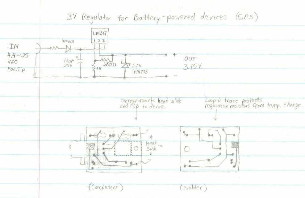 GPS receiver - schematic