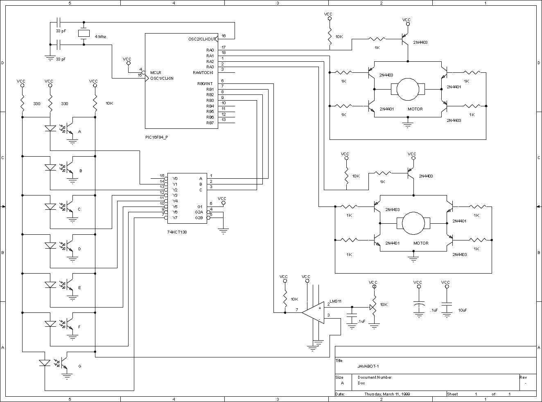 JavaBot1 - schematic