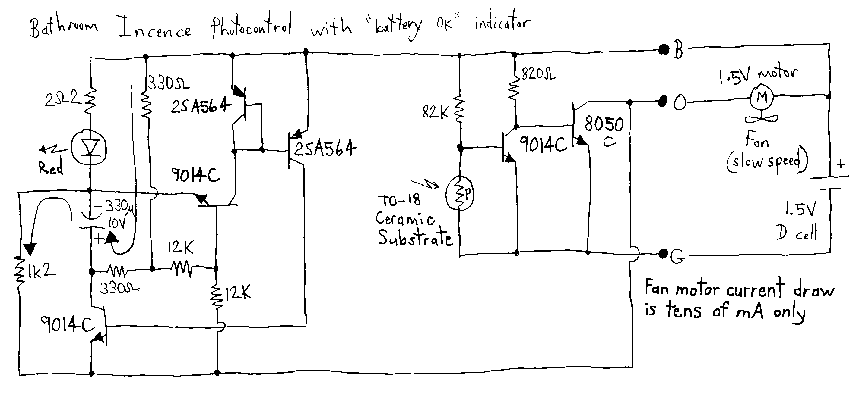 Buffer Circuit Page 5 Other Circuits Next Gr Auto Electrical Thermocouple Amplifier Using Ca3193 3