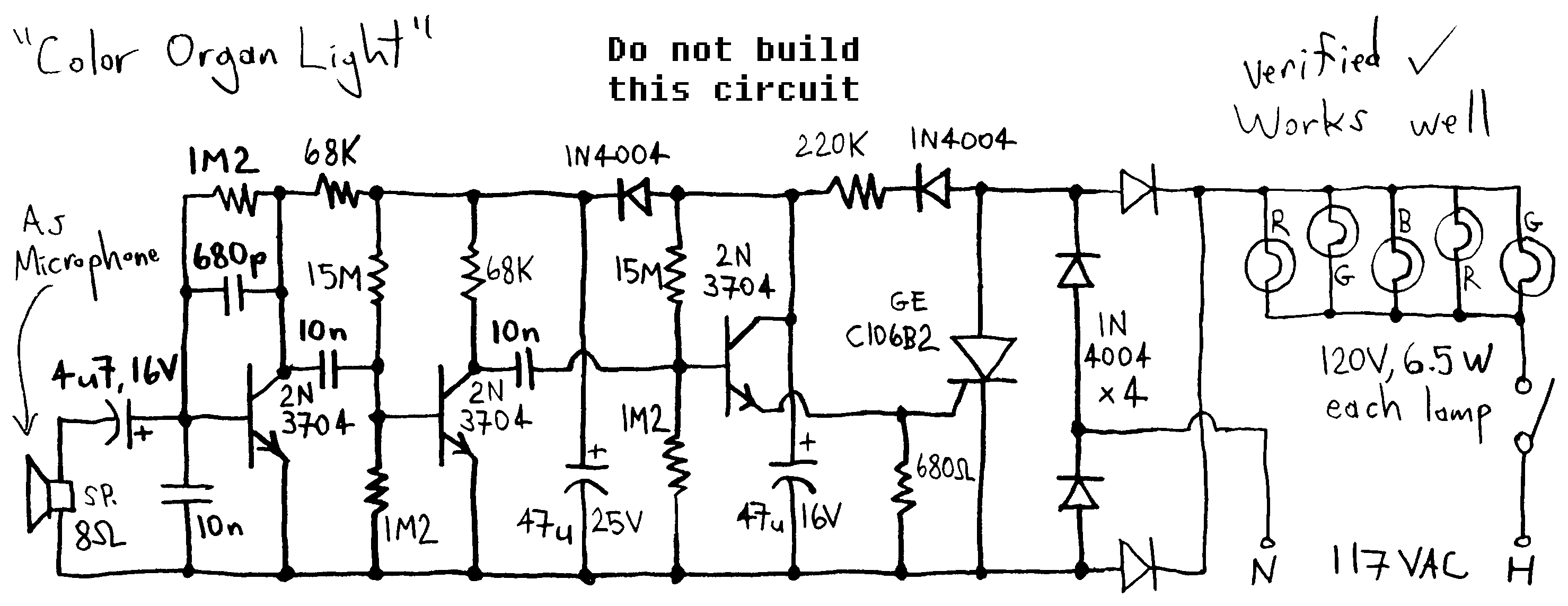 light sensor circuit : Light Laser LED Circuits :: Next.gr
