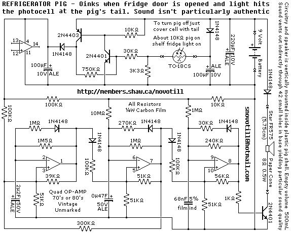 Refrigerator Pig - schematic
