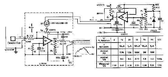 Small current amplifier circuit