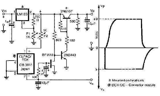 GaAsFET amplifier circuit